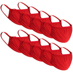 10pc Anti-dust Masks Color Reusable