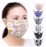 VIP FASHION Adult Cute  Printed Face Mask