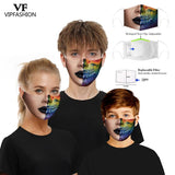 VIP FASHION Anti-Dust Face Masks Funny Printing