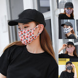 Ice Silk Mask Female Women Cotton Sunscreen Dustproof Mouth Mask