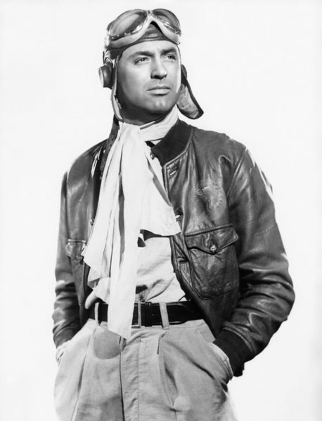 Cary Grant Only Angels Have Wings Movie Silk Scarf Pilot History