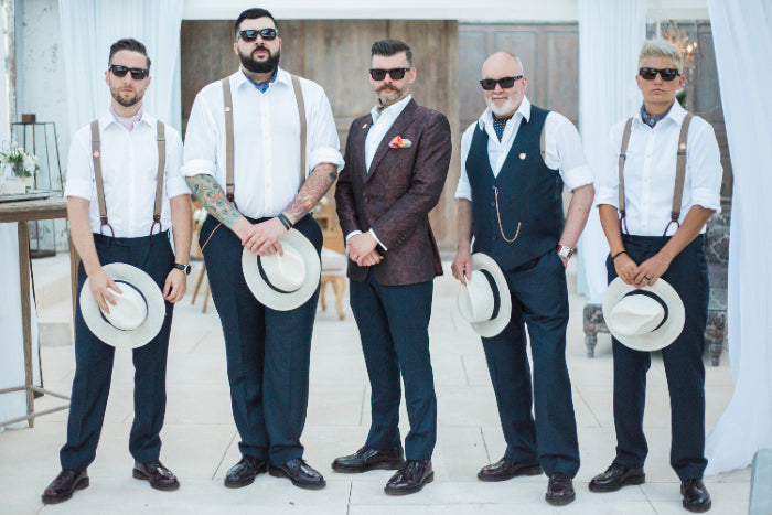 Cravat Club Wedding Groomsmen Groom Ushers Best Man