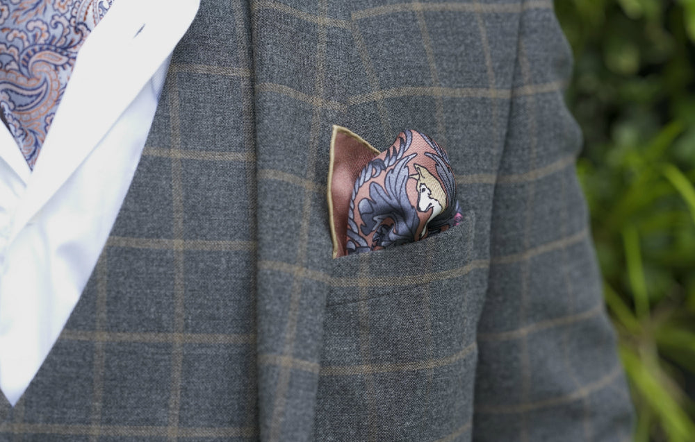 Perfect Pairing How to Wear Pocket Squares with Cravats or Ties