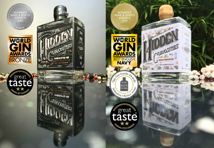 Hidden Curiosities Aranami Navy Strength Gin Japanese Gin Surrey Hills