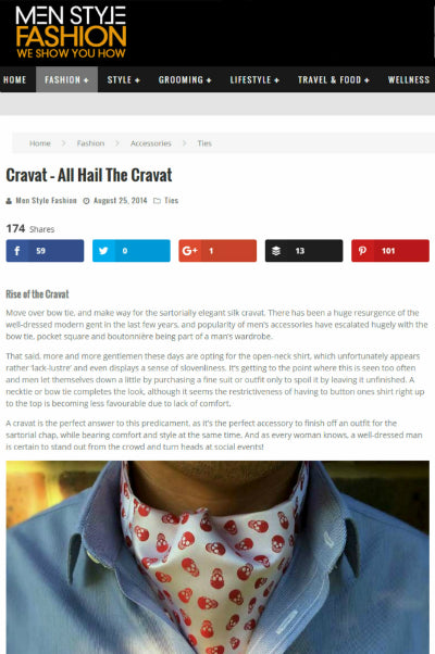 all hail the cravat