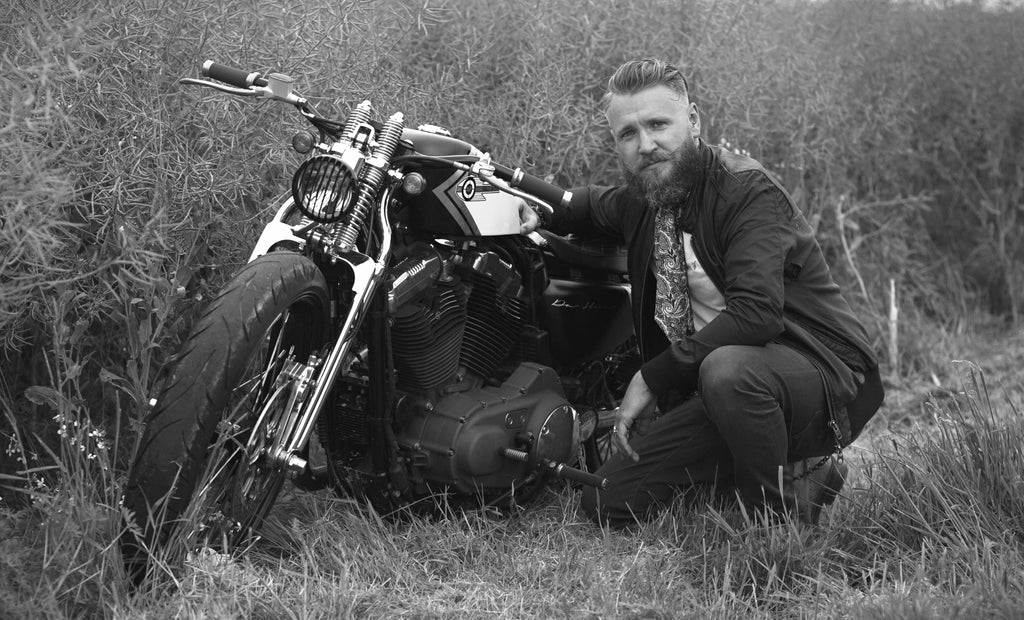 Cravat Club Lockdown Learn a New Skill or Hobby Motorbike