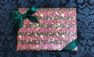 Red & Gold Gift Wrap