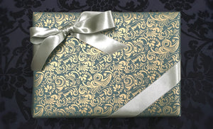 Green & Gold Gift Wrap