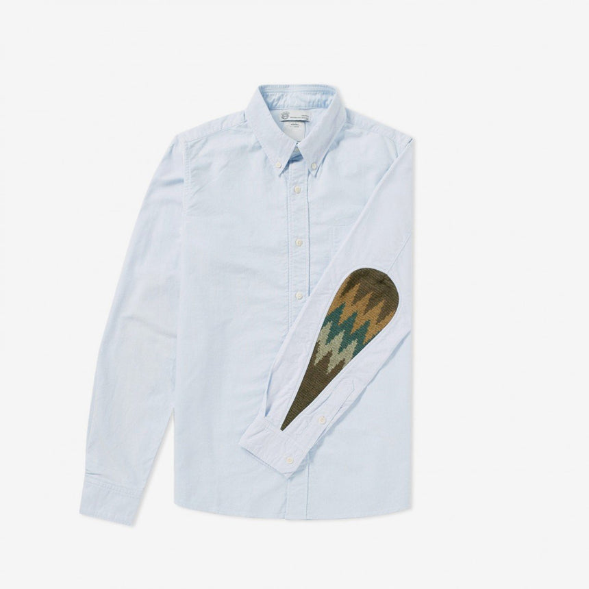 Visvim Albacore Blanket Shirt Light Blue