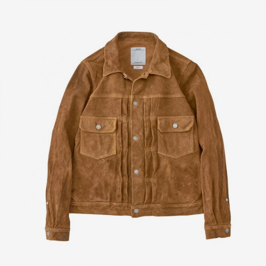 VISVIM 101 JACKET IT CAMEL