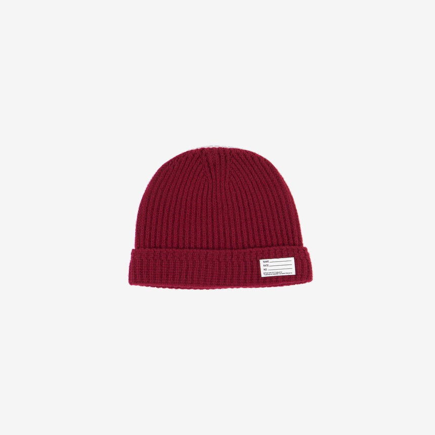Visvim Knit Beanie Wool Burgun