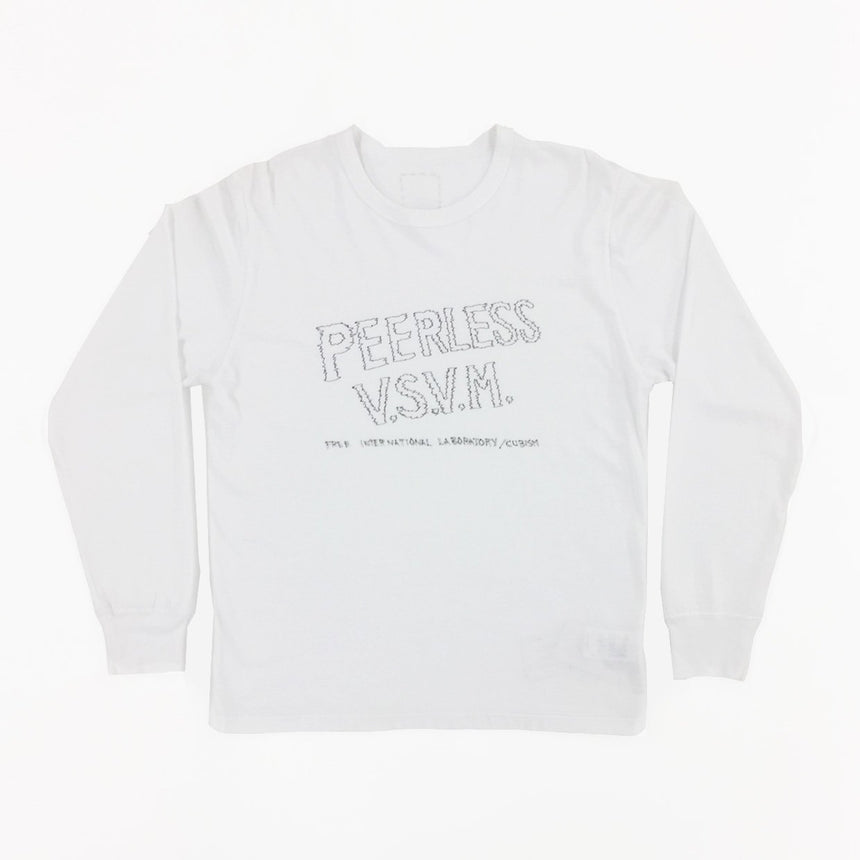 Visvim Wide Tee L/S Peerless Sketch