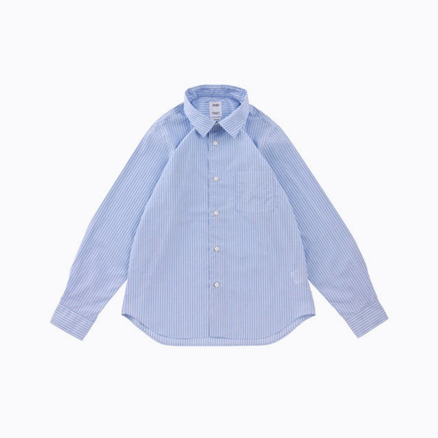 Visvim Free Edge Shirt Collared Blue