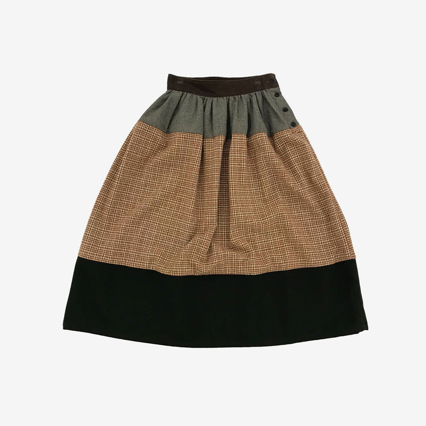 Visvim Elevation Long Skirt Beige