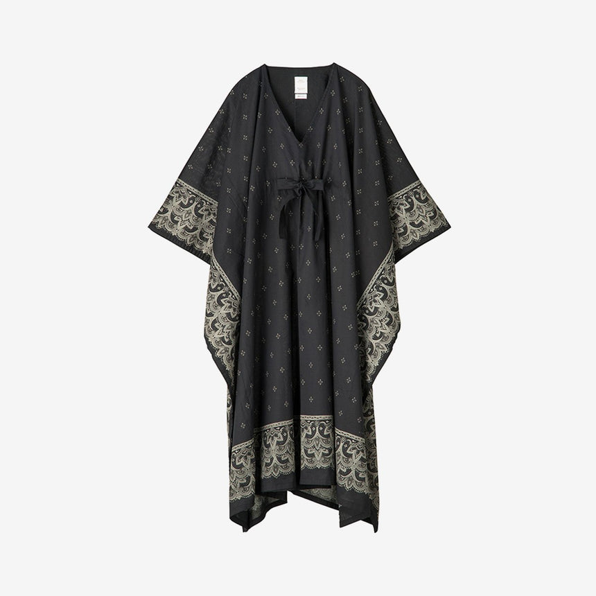 Visvim Kaftan Dress Bandana Black