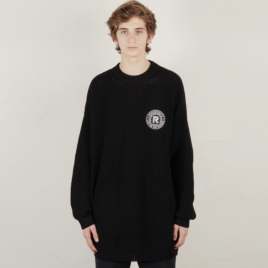 Raf Simons Slim Fit Denim Shirt Black