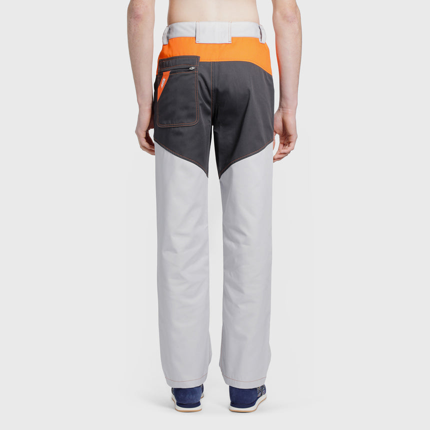 Affix Tri-tone Work Pant Light Grey / Dark Grey / Orange