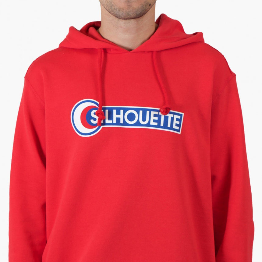 Silhouette Cartel x Silhouette Logo Hoody Red