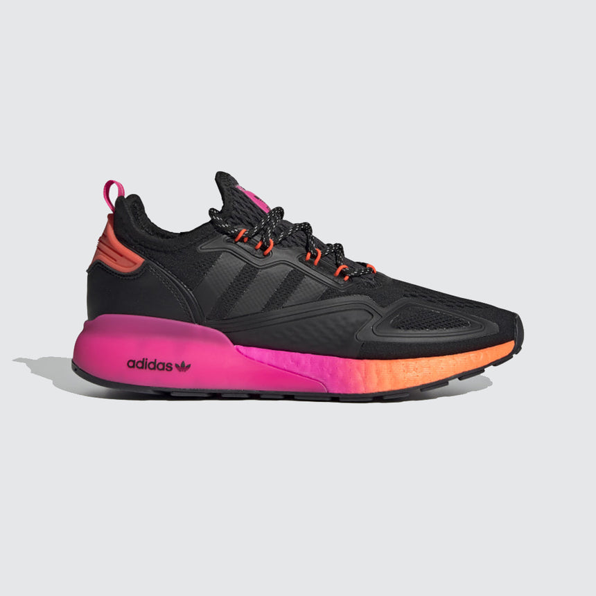 adidas ZX 2K Boost Core Black / Solar Red