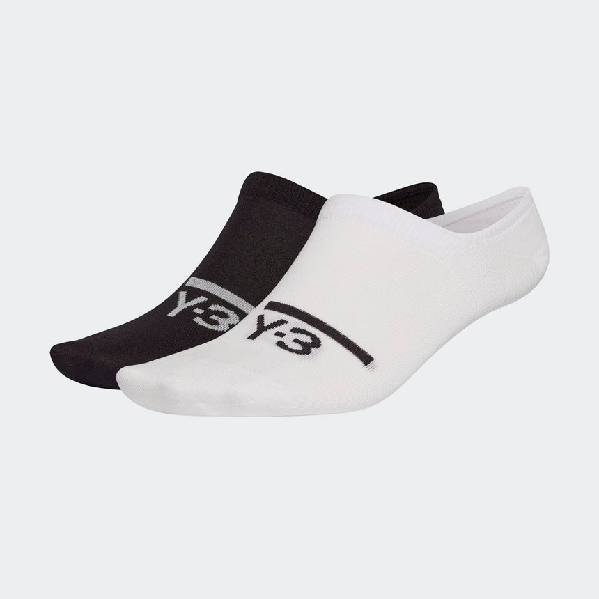 adidas Y-3 Invisible 2 Pairs Socks Black / White
