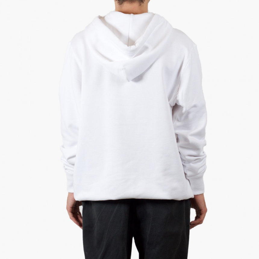 Silhouette x Cartel Badge Hoody White