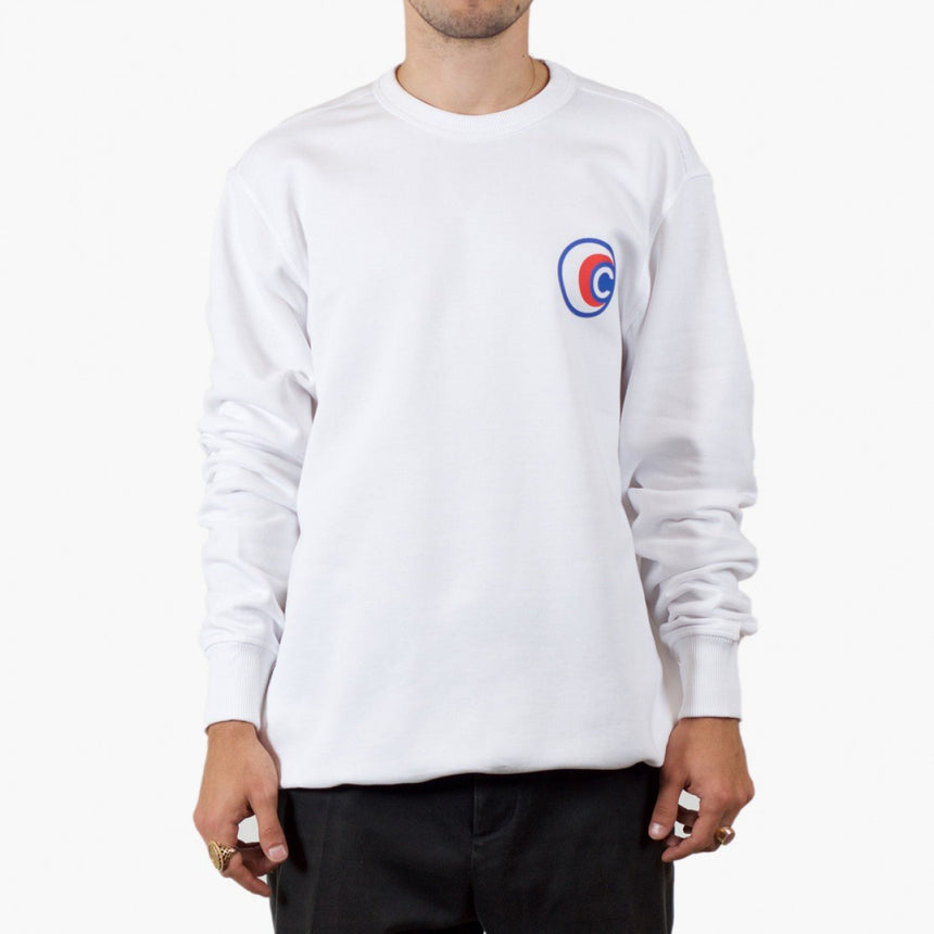 Silhouette x Cartel Badge Sweater White