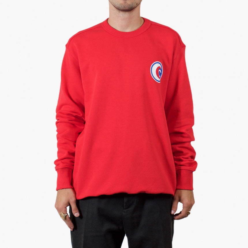 Silhouette x Cartel Badge Sweater Red