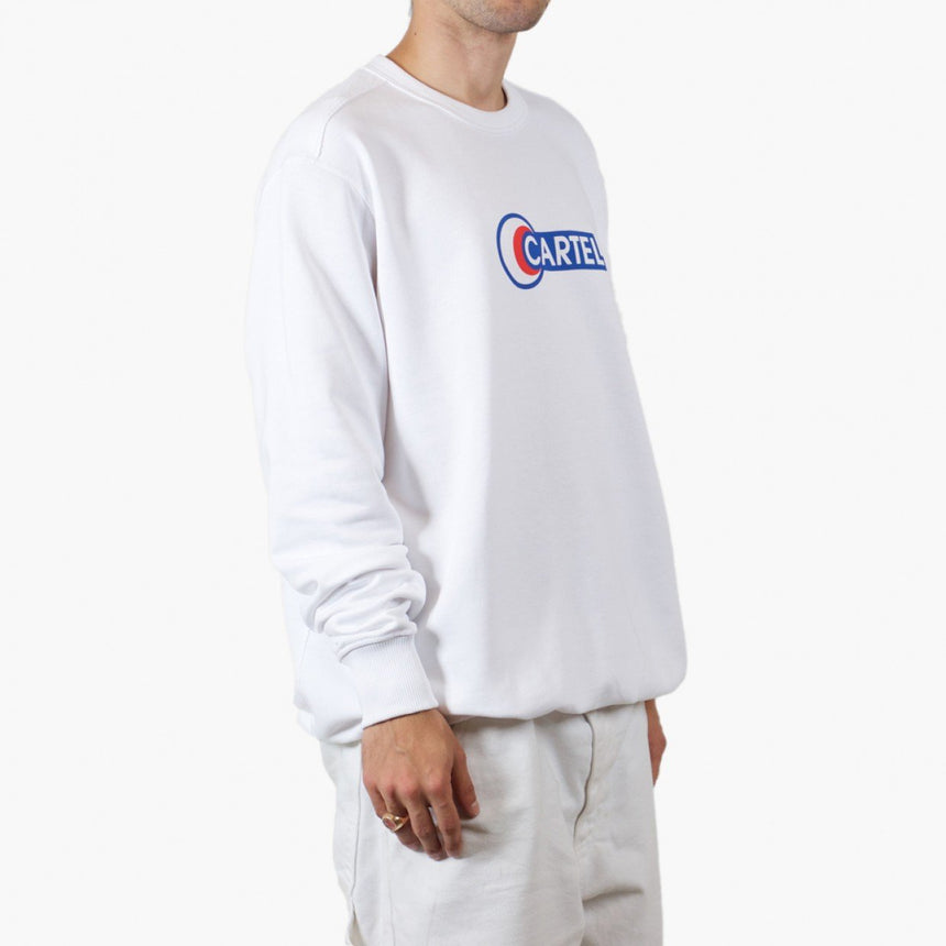 Silhouette x Cartel Logo Sweater White
