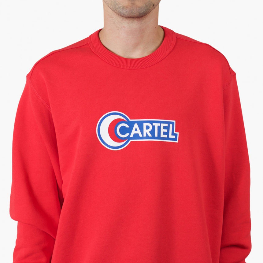 Silhouette x Cartel Logo Sweater Red