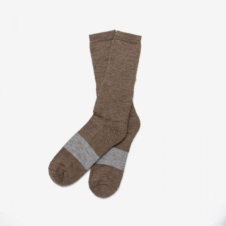 The Inoue Brothers Mountain Socks Brown