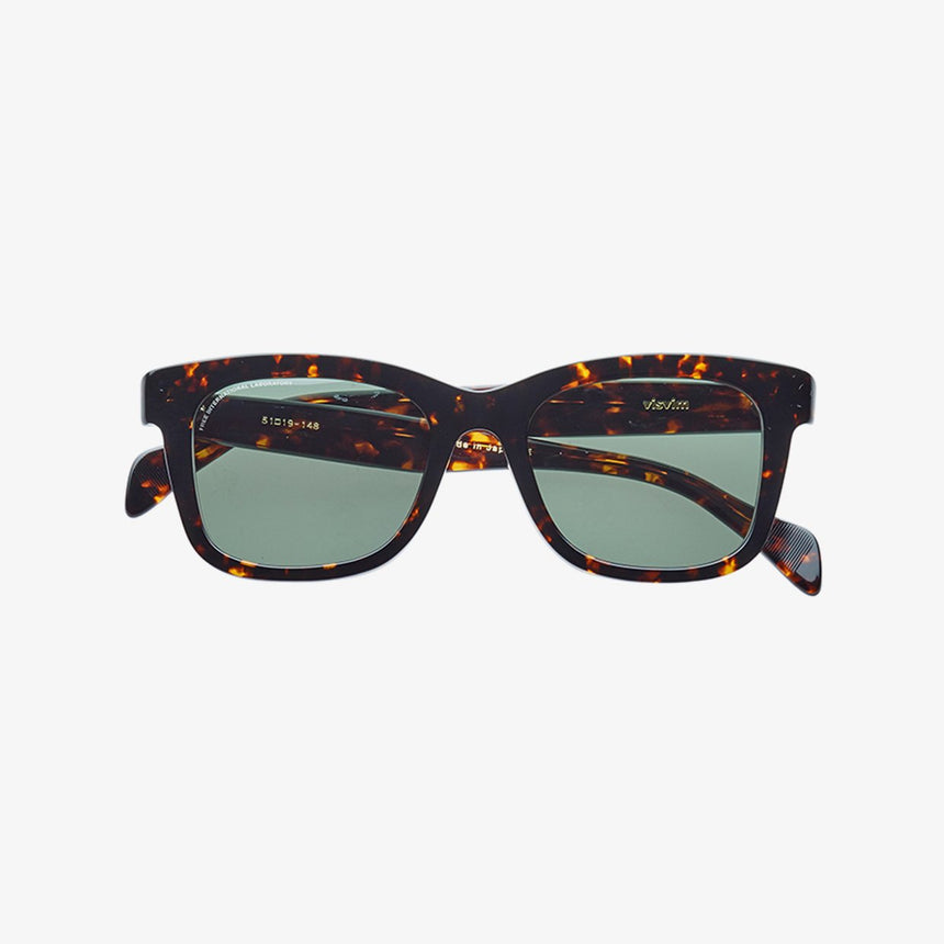 VISVIM VIATOR SUNGLASSES CHIEF DARK BROWN