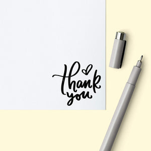"Boucy ""Thank You"" Envelope Stamp Envelope Stamp Sweet Backflip"