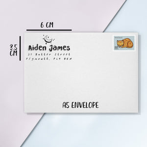 Kids Icon Address Stamp