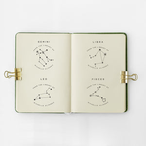 Pisces - Zodiac Book Stamp Book Stamp Sweet Backflip