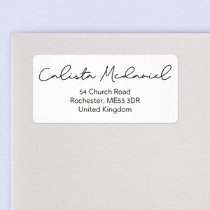 Simple Script Address Labels
