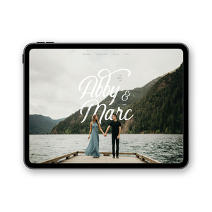 HIPSTER - WEDDING WEBSITE