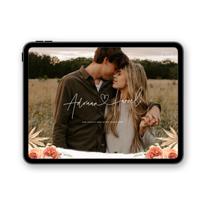 BOHO - WEDDING WEBSITE