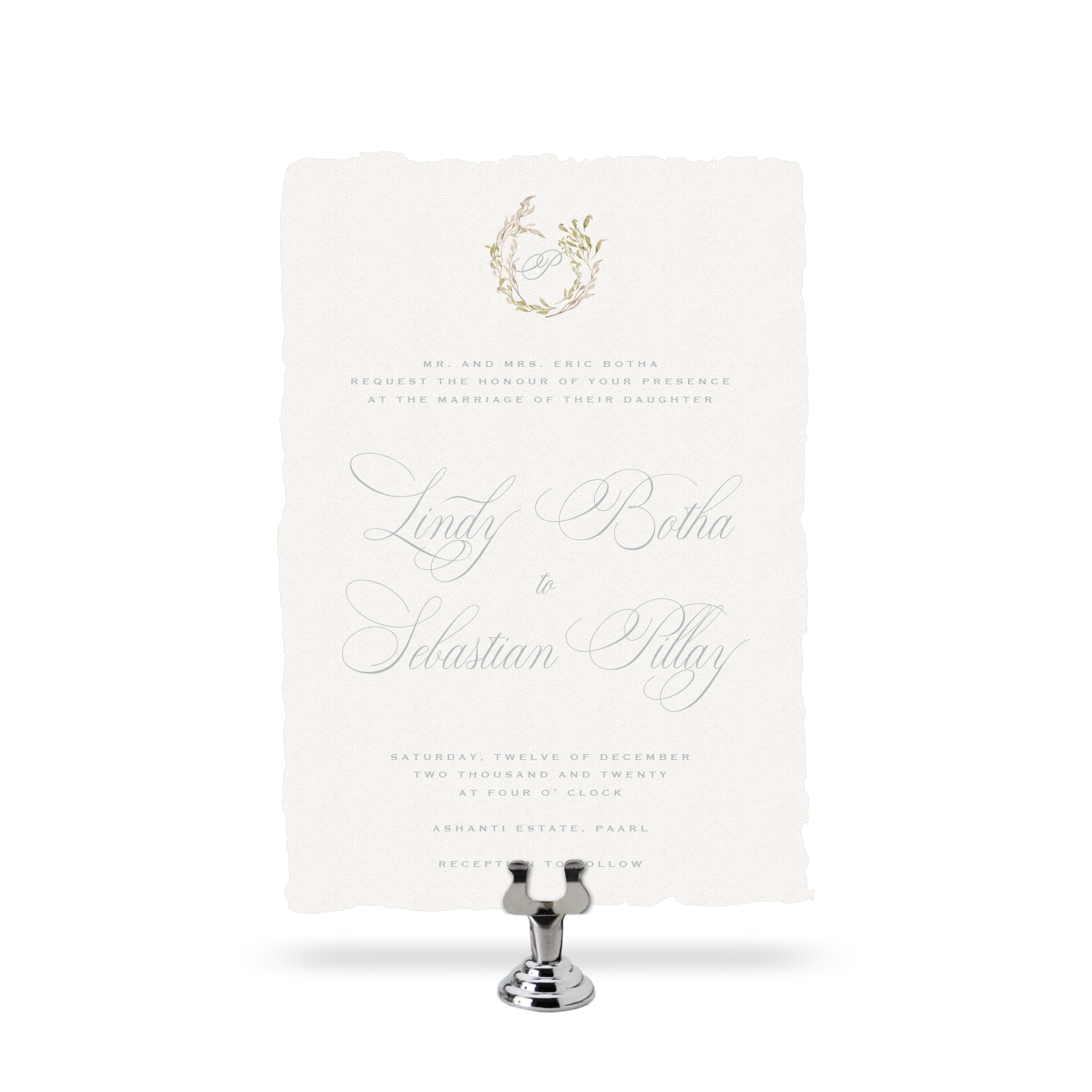 Tuscan - Invitation Set