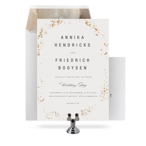 Marble - Invitation Set