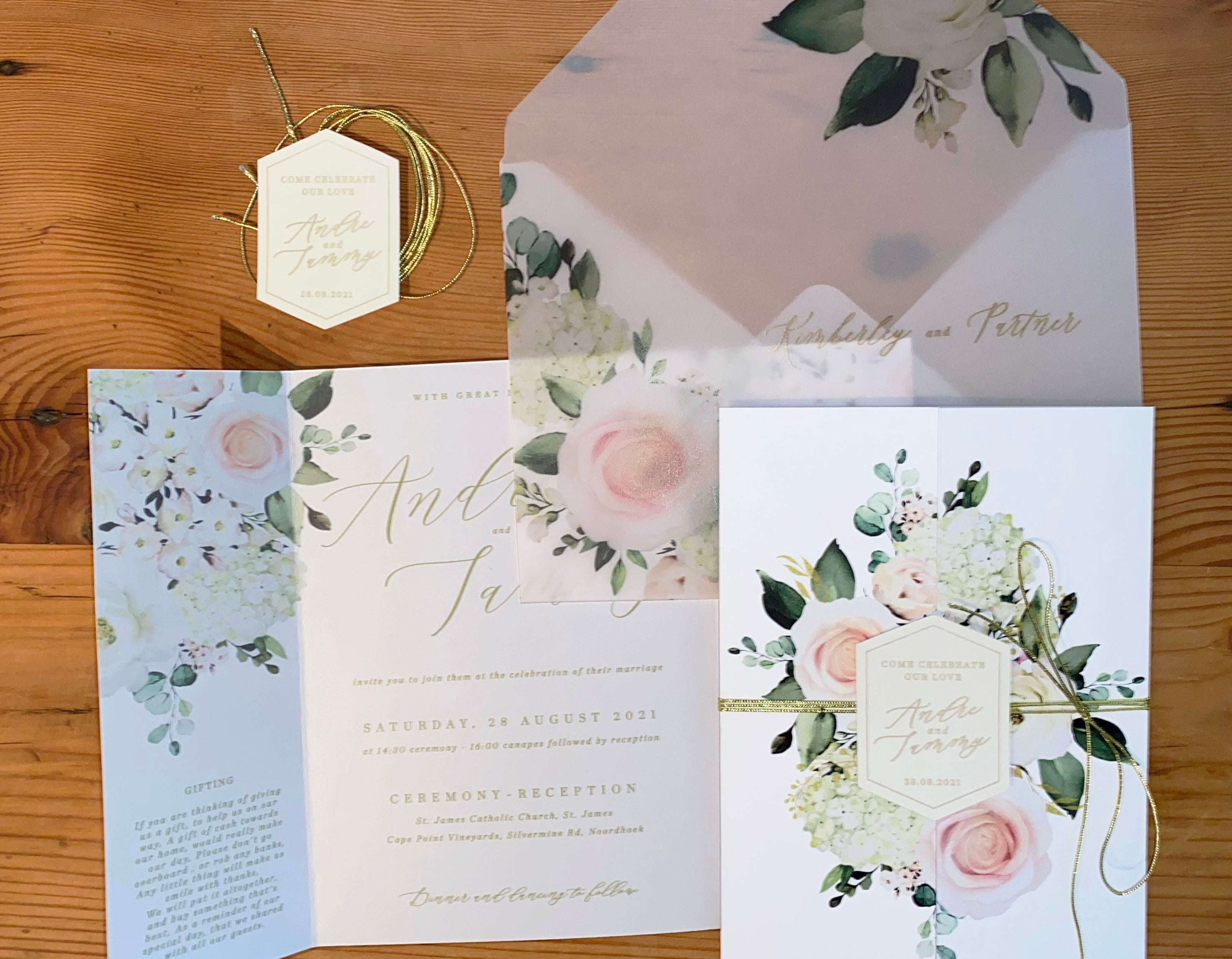 Tammy - Invitation Set