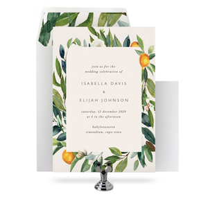 THE GARDENER - INVITATION SET
