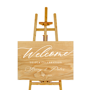 Welcome Sign - Decal