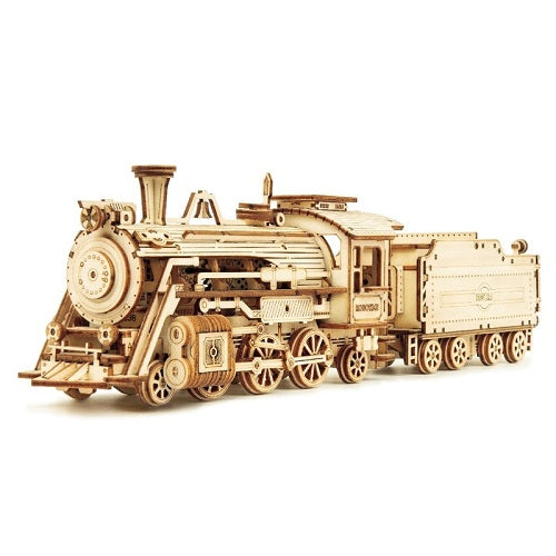 DIY Wooden Locomotive Model