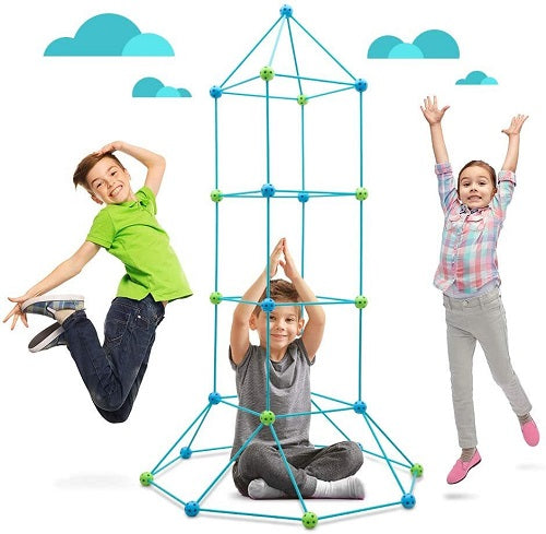 The DIY Fortress Building Kit Kids Toy Game