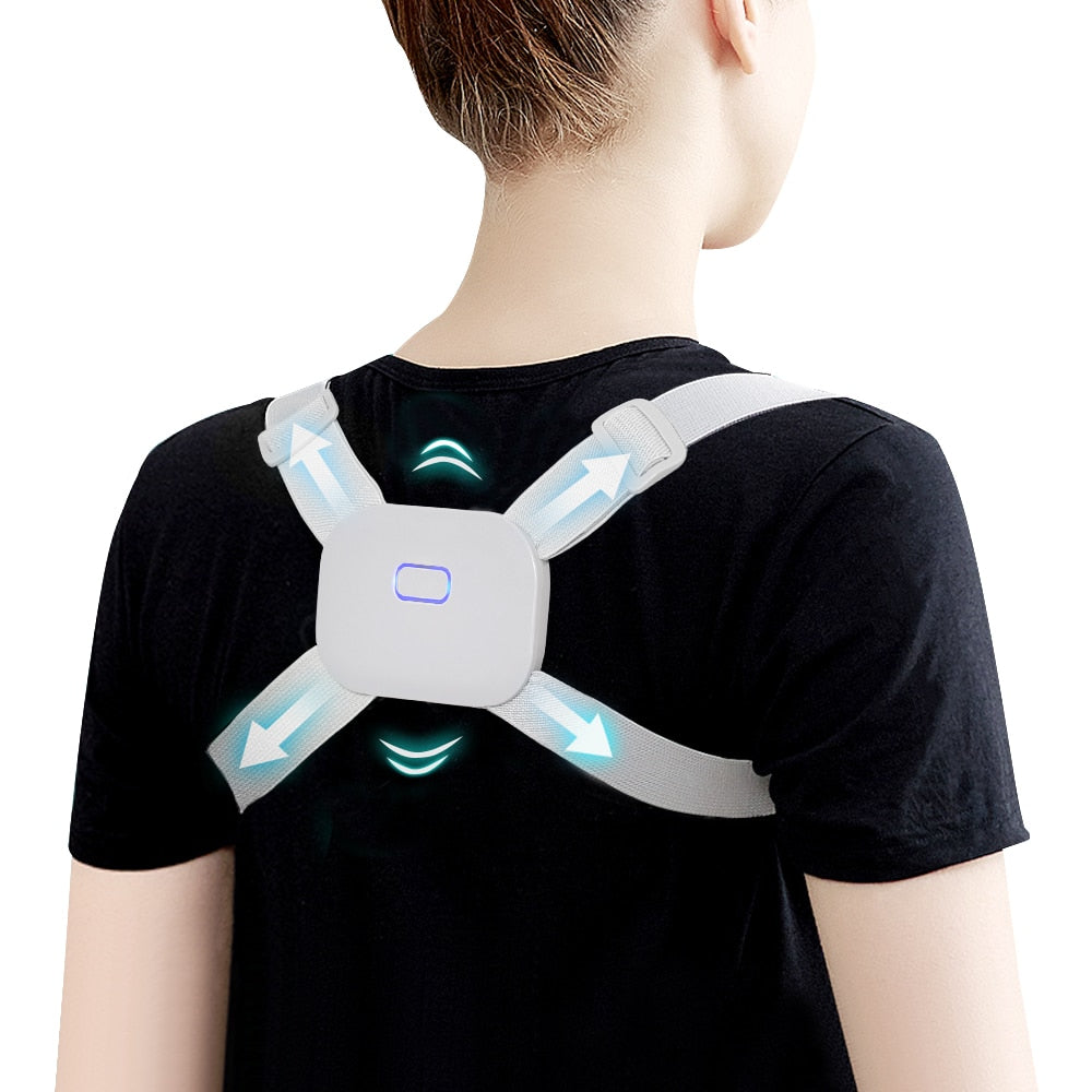 Adjustable Posture Corrector Back Support Pain Relief Upper Back Brace