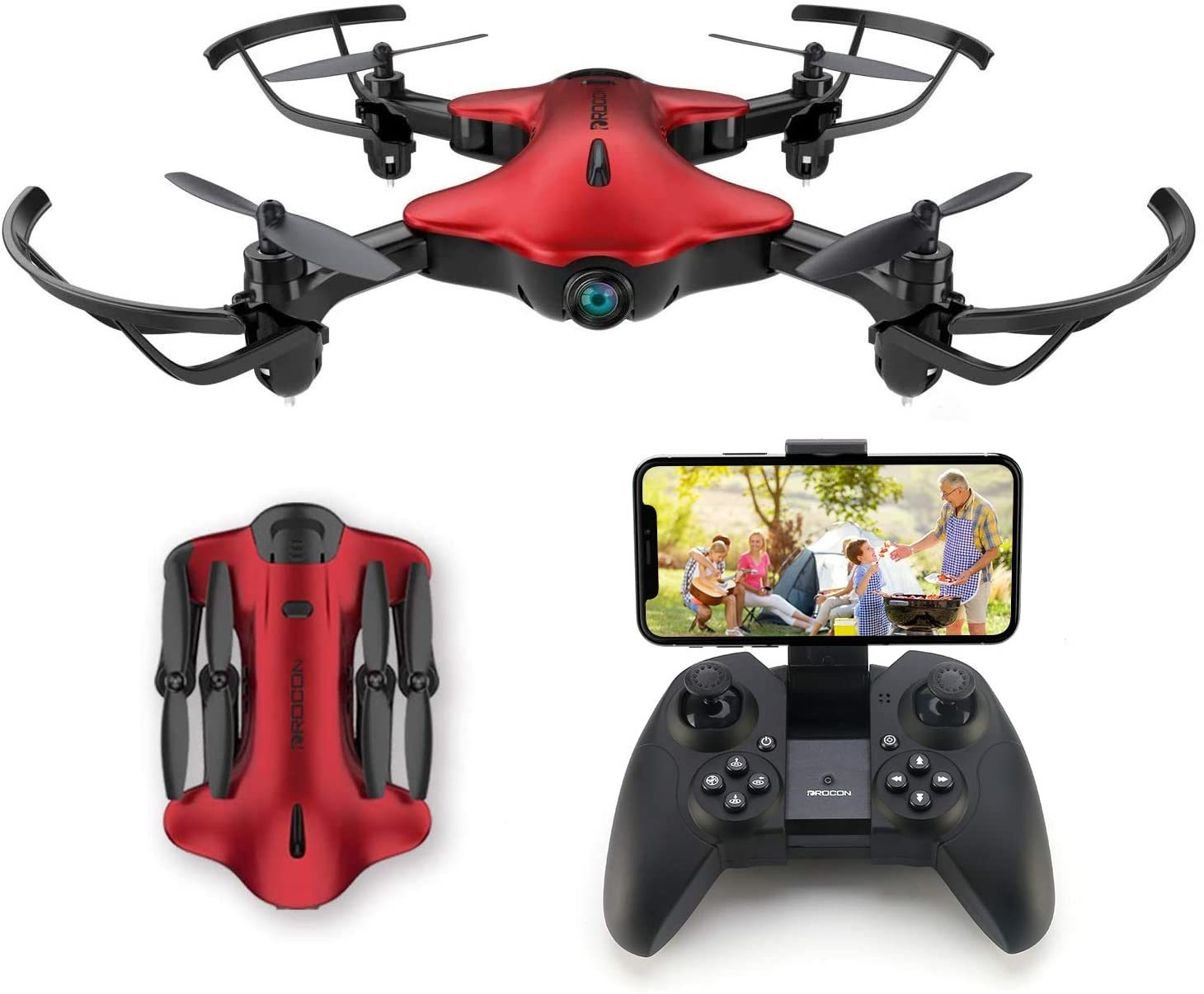 Drone for Kids, Drocon Spacekey FPV Wi-Fi Drone with Camera 1080P FHD