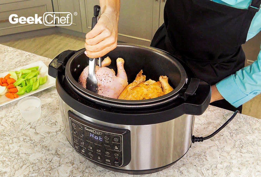 Household 8L Oval LED Display High Pressure Cooker