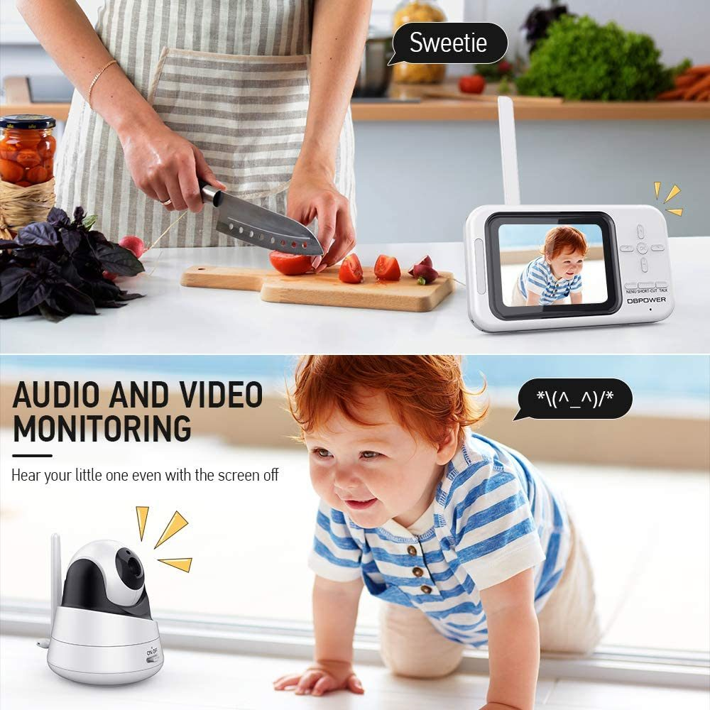 DBPOWER Video Baby Monitor, 3.5