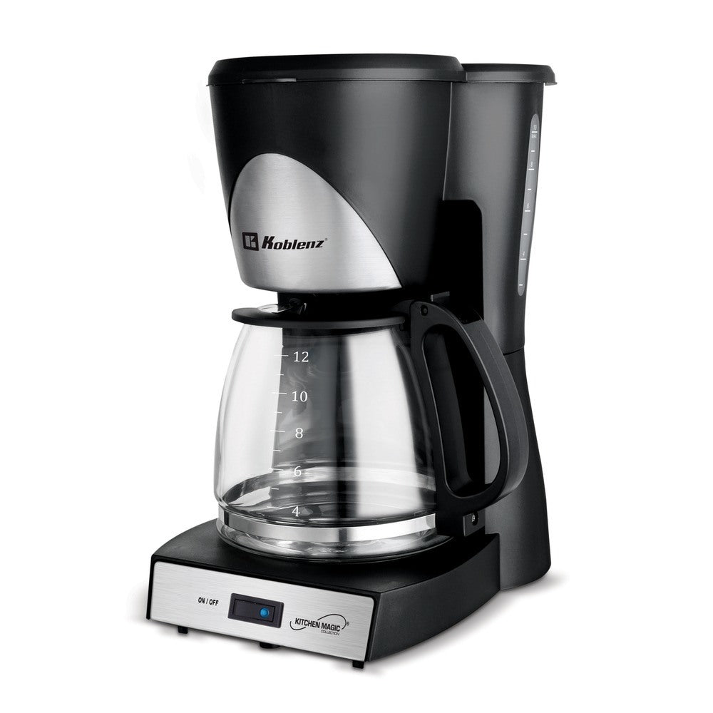 Koblenz CKM-212 IN 12-Cup Kitchen Magic Collection Coffee Maker