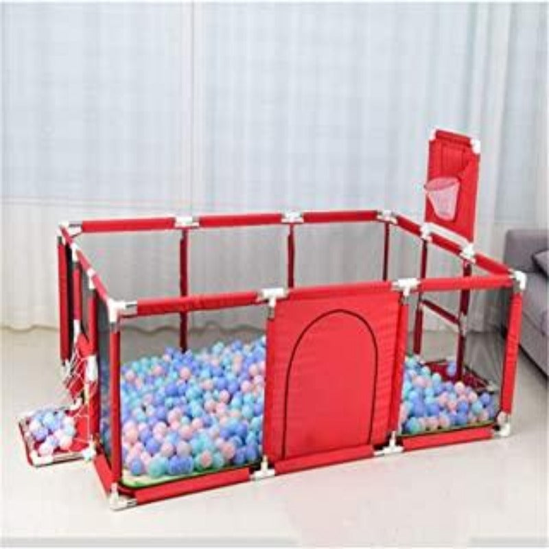 Indoor Dry Swimming Pool Ball Playpen With Safety Fence  for Toddlers and Babies